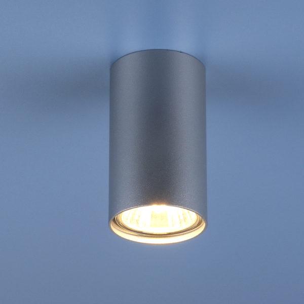 002328e5c1b31c3048d95d9af67cf23c 600x600 - Накладной точечный светильник Elektrostandard 1081 (5257) GU10 SL серебряный