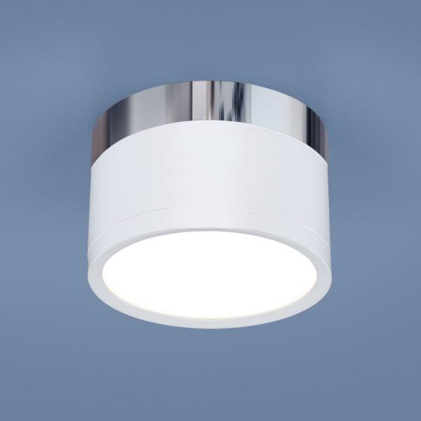 0158aa1c89ce401e2d33a0b30fd6a4a4 600x600 - Накладной точечный светильник Elektrostandard DLR029 10W 4200K белый мат./хром