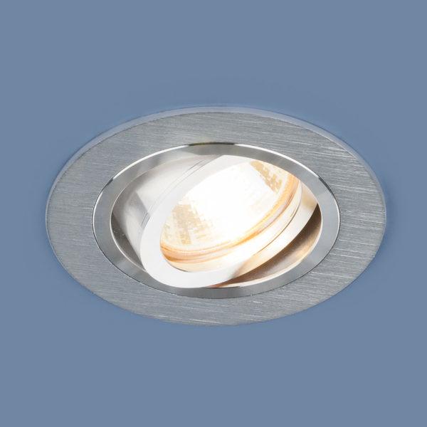 03b38b75e244ae3a8a8632f4ef5a45fc 600x600 - встр. точечный светильник Elektrostandard 1061/1 MR16 SL серебро