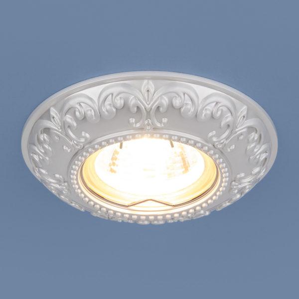 059c336dd3b8a488befaa3b869c03546 600x600 - встр. точечный светильник Elektrostandard 7009 MR16 WH белый