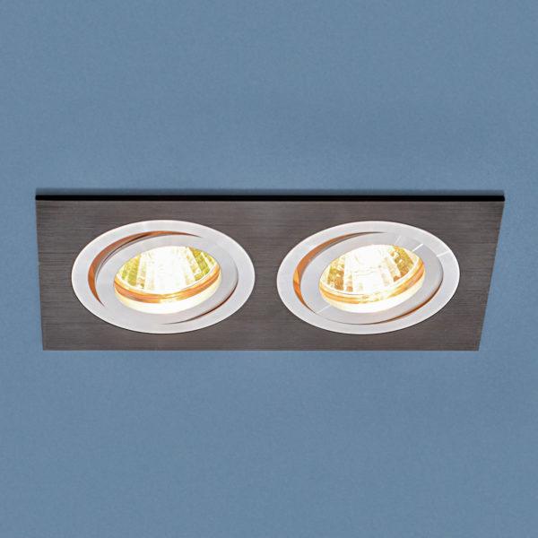 08bffe212ba7687e427d79f06f65a2d7 600x600 - встр. точечный светильник Elektrostandard 1051/2 BK черный