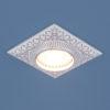 0edd2771549c3a385176767513a87a94 100x100 - встр. точечный светильник Elektrostandard 4104 белый/хром