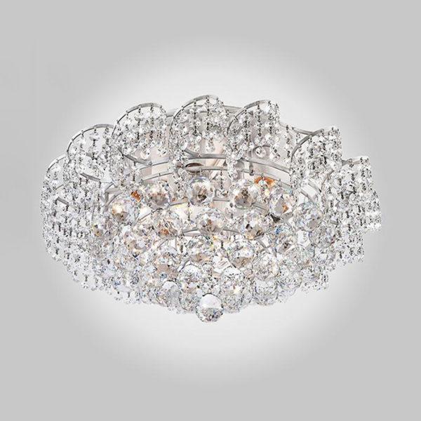 1039f7785a9f0c7fe5158791d7021c8e 600x600 - Потолочный светильник Eurosvet 16017/9 белый с серебром