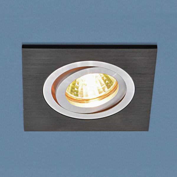 13e8af160d73cf583d238cb9f4c6f1e8 600x600 - встр. точечный светильник Elektrostandard 1051/1 BK черный