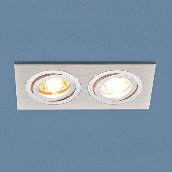 153c00310d3050265041366f72bf006f 600x600 - встр. точечный светильник Elektrostandard 1051/2 WH белый