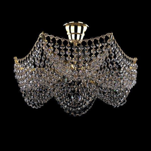 1e15d850004e789b032beec3c86fe9b5 600x600 - Потолочный светильник Bohemia Ivele Crystal 7708/3 G