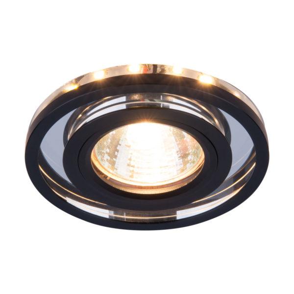 22659ba0d01b8d87299ad2b461898912 600x600 - встр. точечный светильник Elektrostandard 7021 SL/BK зеркальный/черный