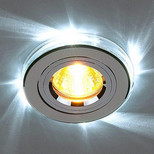 22b2647efd6e8b398e8fddbd25f17158 600x600 - встр. точечный светильник Elektrostandard 2060/2 хром/белый