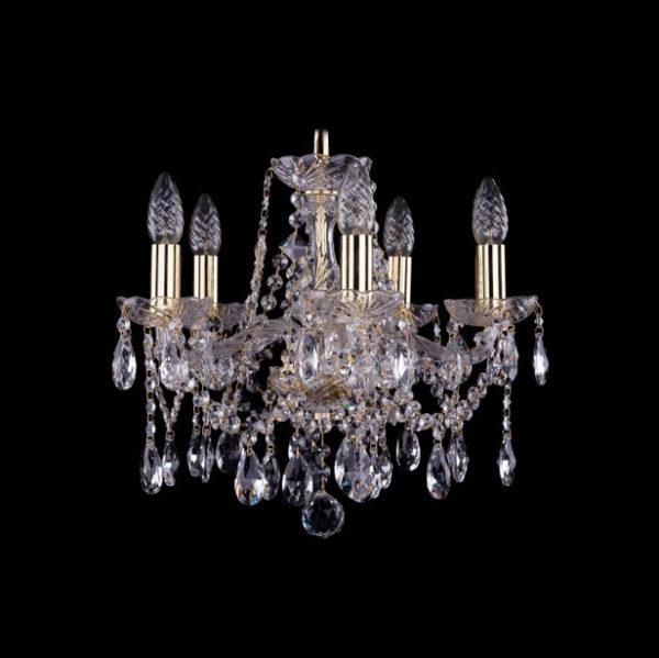 22f1421f67cd4913e97a6a0ffdbbe7f6 600x599 - Люстра подвесная Bohemia Ivele Crystal 1413/5/141 G