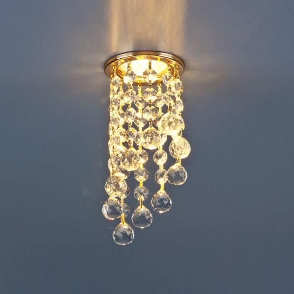 2373c4e09a79b7715474e6e1a8918c1a 600x600 - встр. точечный светильник Elektrostandard 205C C золото/прозр.