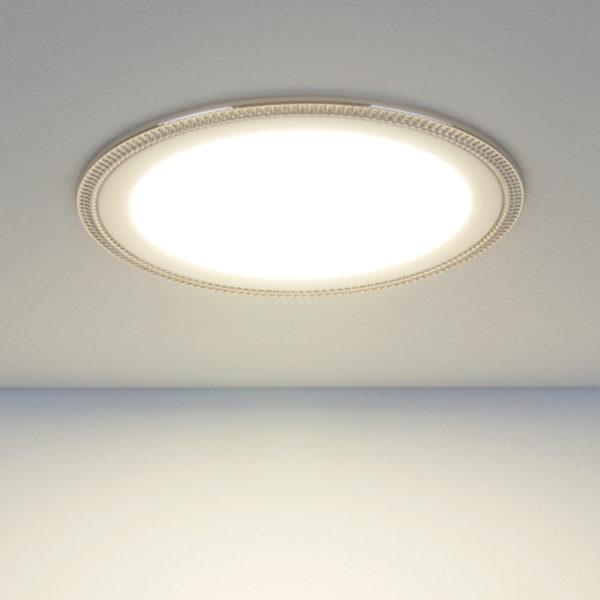 25f7a1bec91802cfaaef9322a2912675 600x600 - встр. точечный светильник Elektrostandard DLR006 12W 4200K PS/N перламутровый серебро/никель
