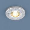 298a08e7080e1e2bc12c4a9045b566cd 100x100 - встр. точечный светильник Elektrostandard 2050 серебро