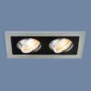 2aa840172d3d51199f6bb3464f81b225 100x100 - встр. точечный светильник Elektrostandard 1041/2 MR16 SL/BK серебро/черный