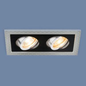 2aa840172d3d51199f6bb3464f81b225 300x300 - встр. точечный светильник Elektrostandard 1041/2 MR16 SL/BK серебро/черный
