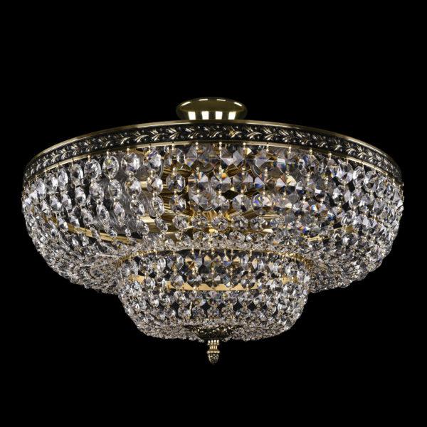 2d7ca047eb98e00f9024f0a6218fe234 600x600 - Люстра потолочная Bohemia Ivele Crystal 1910/50/Z/GB