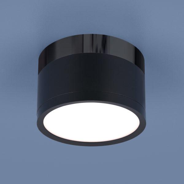 2dc775901e6cd0f98d3b183334fc921e 600x600 - Накладной точечный светильник Elektrostandard DLR029 10W 4200K черный мат./черный хром