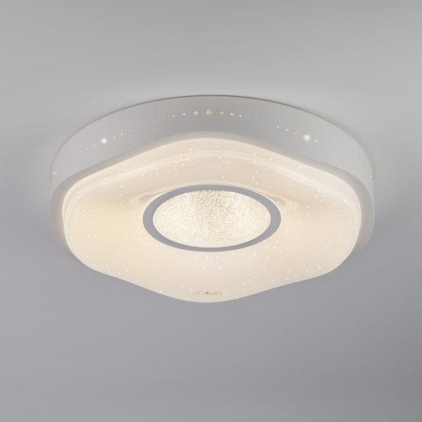 334f519ed57474f97640684943d253db 600x600 - Потолочный светильник Eurosvet 40011/1 LED белый