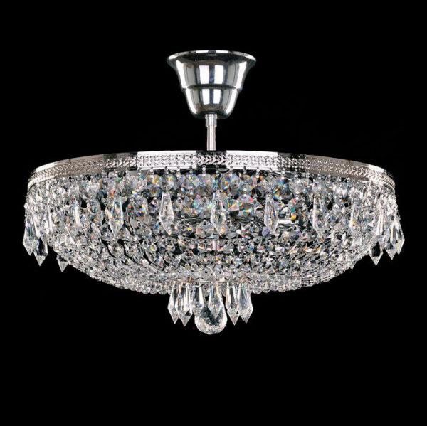 3a335789c19702bed5877dc03bca099d 600x599 - Люстра потолочная Bohemia Ivele Crystal 1927/35Z/Ni
