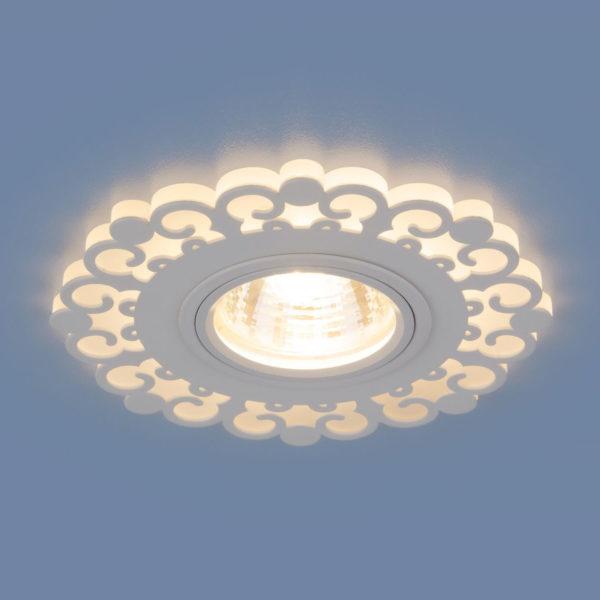 41a2cde09827ea9def46c77dad19ea87 600x600 - встр. точечный светильник Elektrostandard 2196 MR16 WH белый