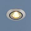 44902c5c44e6309a6734e25e4fc1ba3a 100x100 - встр. точечный светильник Elektrostandard 5106 сатин серебро/черный