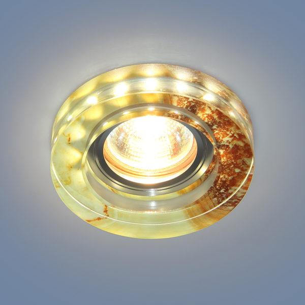 468f44372341c0af2390537917150d4a 600x600 - встр. точечный светильник Elektrostandard 2190 MR16 YL желто-терракотовый
