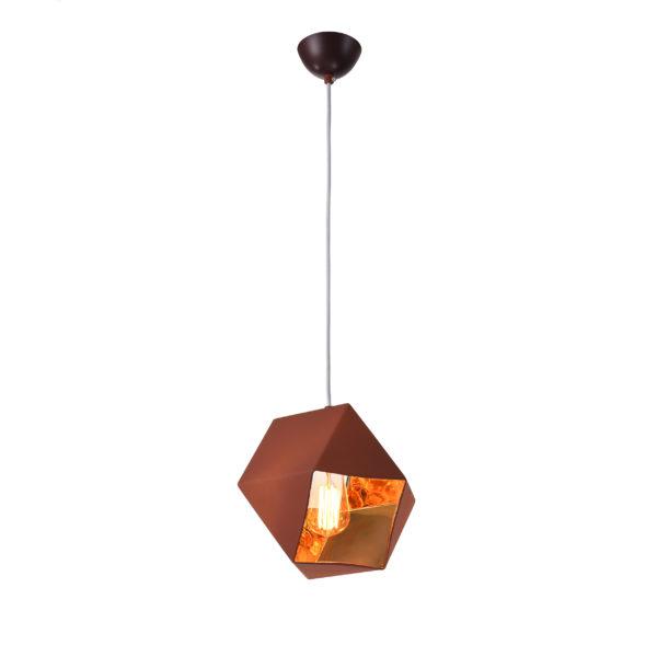 46980d25cfb9af7b4118c1e6ae06766e 600x600 - Подвесной светильник Vestini F6125/1 кофе/золото