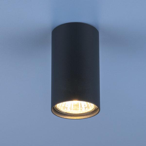 49cacdaa309b8645efa02d29e46b322f 600x600 - Накладной точечный светильник Elektrostandard 1081 (5256) GU10 GR графит