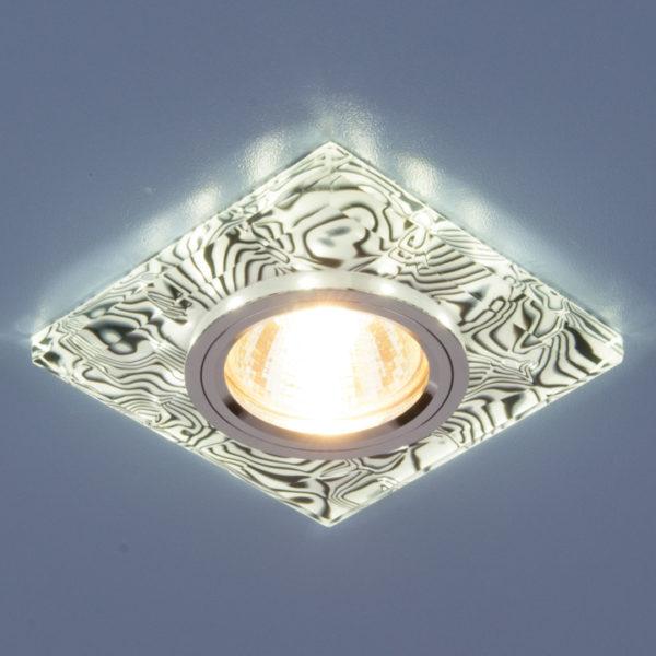 4b3fb86aab358a300b0b02fbb7f4aac6 600x600 - встр. точечный светильник Elektrostandard 8361 белый/черный