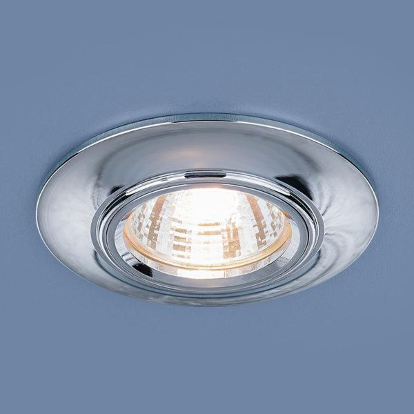 4f103108100738473a21012aa9de9d59 600x600 - встр. точечный светильник Elektrostandard 7007 MR16 SL серебро