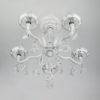 51a1d7fa978408b689cc771f1b014077 100x100 - Люстра подвесная Eurosvet 10049/5 белый с серебром/прозр. хрусталь