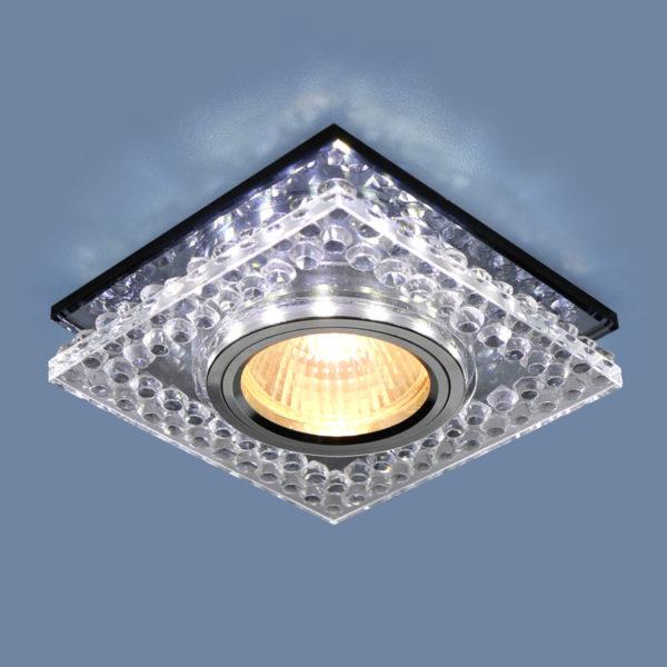 544fd8f81235ab379d1b7cd14d3996cd 600x600 - встр. точечный светильник Elektrostandard 8391 MR16 CL/SBK прозр./дымчатый