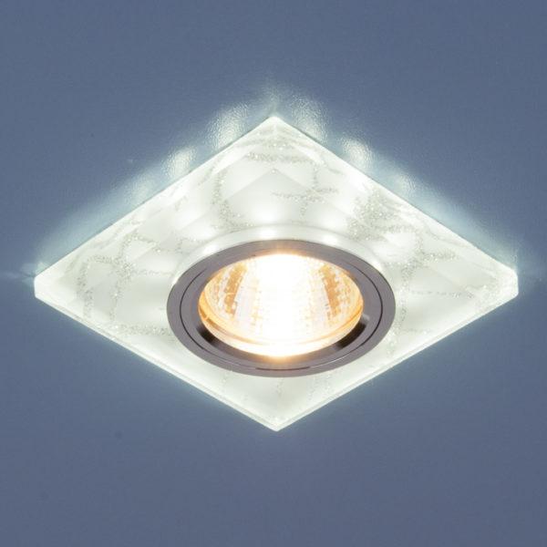 570cb4b816a7ebd2c019c2eabfb37832 600x600 - встр. точечный светильник Elektrostandard 8361 белый/серебро