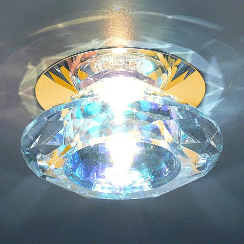 589ed8de83f19c26616829323360849a - встр. точечный светильник Elektrostandard 8016 золото/перламутр