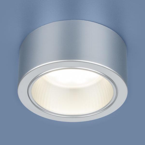 59320ed8cb8890f1e472e7a1c9cc484c 600x600 - Накладной точечный светильник Elektrostandard 1070 GX53 SL серебро