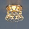 59341233a3ddb2ee581405bfdada1e02 100x100 - встр. точечный светильник Elektrostandard 2051-C золото/прозр.