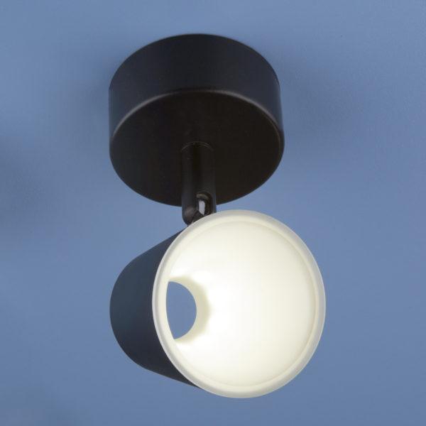 5a057a9932cccc3af4ffd046a1e2041a 600x600 - Настенно-потолочный светильник Elektrostandard DLR025 5W 4200K черный мат.