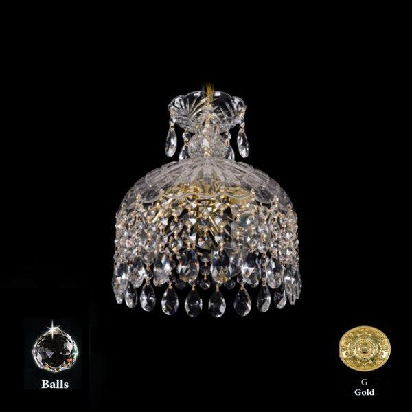 5bc6a7ed4dad468f0df5aab5779c7e0c 600x600 - Подвесной светильник Bohemia Ivele Crystal 7715/22/3 G Balls