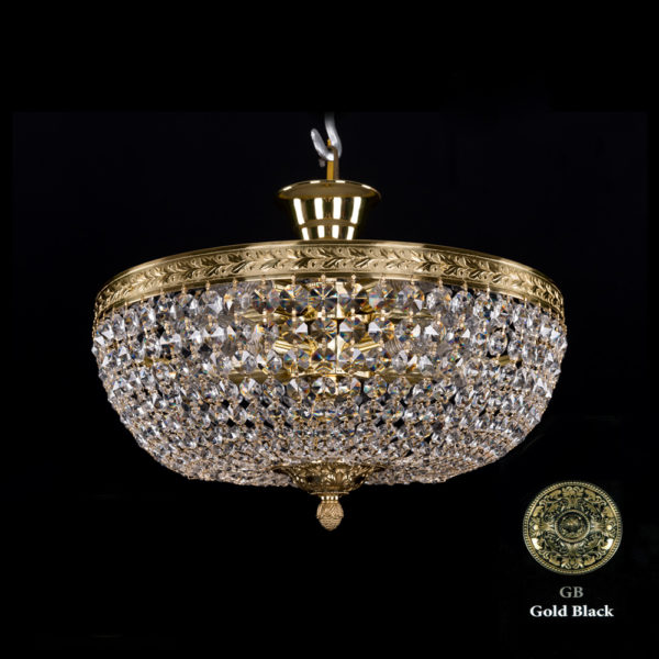 5d831a463f6ce0430fb9c1b582bc03ba 600x600 - Люстра потолочная Bohemia Ivele Crystal 1911/45Z GB