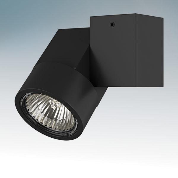 5d93d93b879681273a5420b26ea5f064 600x600 - Накладной точечный светильник Lightstar 051027 ILLUMO X1 NERO