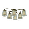 656433be338540f79da154e569584aa3 100x100 - Люстра потолочная Vestini 16308/6 античная бронза/прозр.