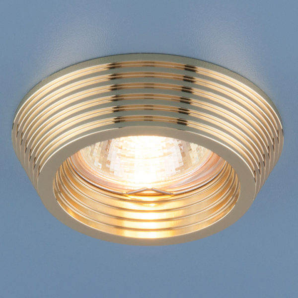 67fe22a4bbb8ff54b783248695c017d0 600x600 - встр. точечный светильник Elektrostandard 6066 золото