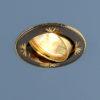 68ca62d8386ffe2f82ef6d867e331ead 100x100 - встр. точечный светильник Elektrostandard 104A черный/золото