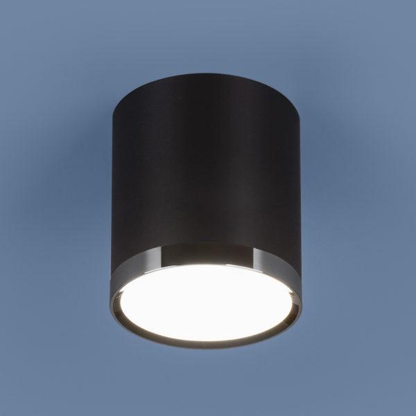 68d75a5db6d93c1c55b2c2f653db9910 600x600 - Накладной точечный светильник Elektrostandard DLR024 6W 4200K черный мат.