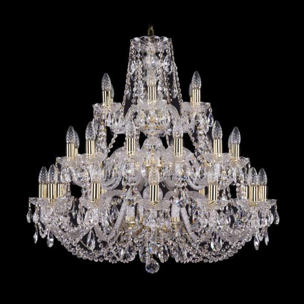 6a54e8f690f600495bfba44b6c59f786 600x600 - Люстра подвесная Bohemia Ivele Crystal 1406/12+12+6/300/G