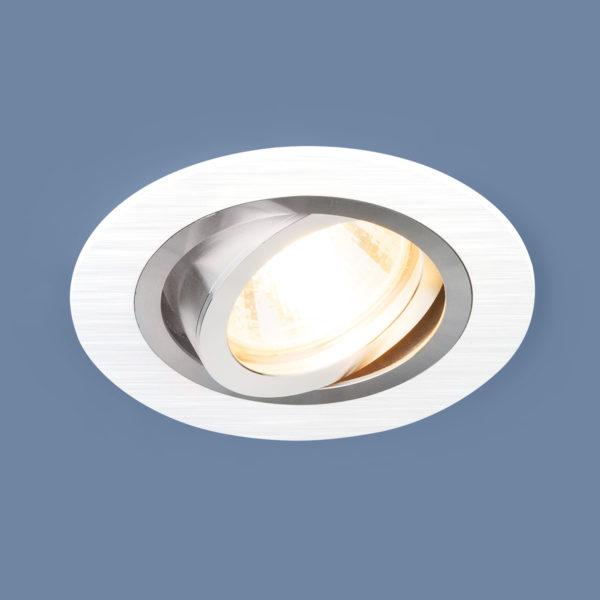 6afed1c20d07ad00b1d2c7122df0e2d0 600x600 - встр. точечный светильник Elektrostandard 1061/1 MR16 WH белый
