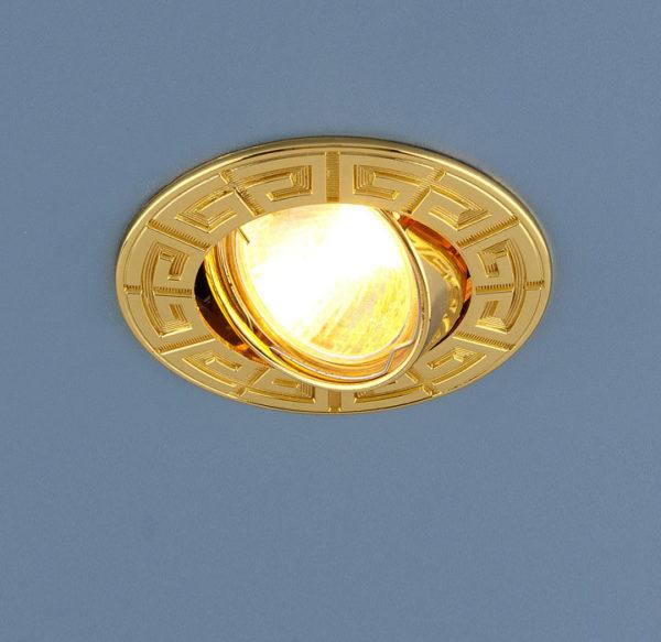 6be6f3b6af7908f5665b129d4e729767 600x583 - встр. точечный светильник Elektrostandard 120090 золото