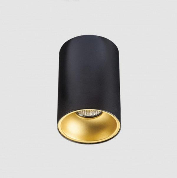 6d2ad944077cbffd5ca3da7865fb6803 600x601 - Накладной точечный светильник Megalight 3160 black/gold
