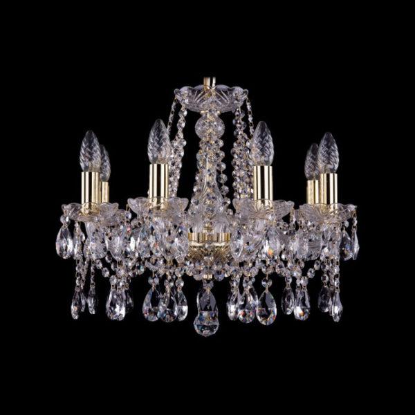 6d51302a48e264b434364310d35ee46e 600x600 - Люстра подвесная Bohemia Ivele Crystal 1413/8/165 G