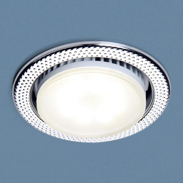 712a132e338bb97aa74381b7fe372446 600x600 - встр. точечный светильник Elektrostandard 1066 GX53 CH хром