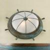7159875ffc1804e31eeb12fef8ed2e2b 100x100 - Настенно-потолочный светильник Lustrarte 689/38-0625 зеленый антик/мат. стекло